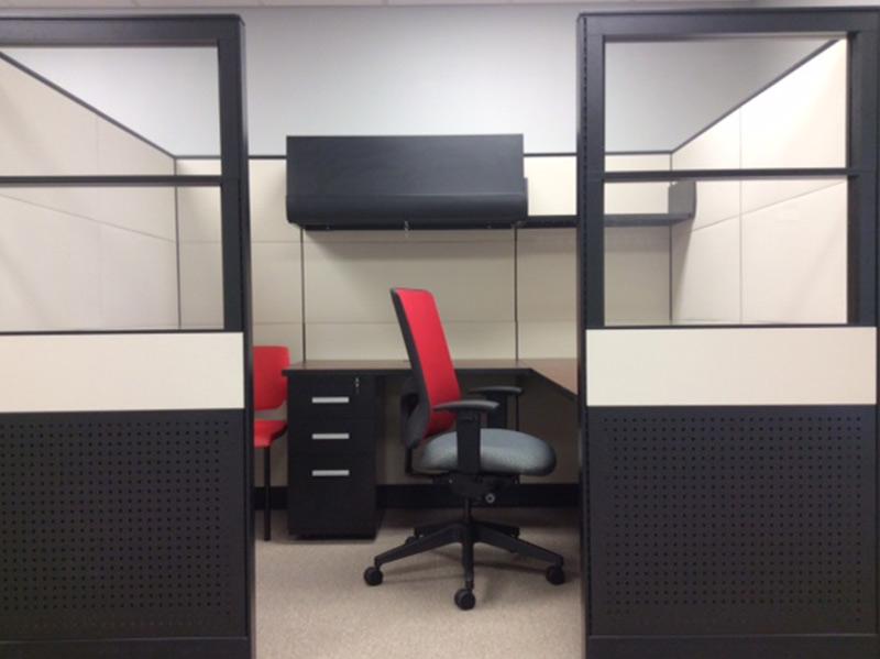 Friant Interra Workstation - Tile Cubicles