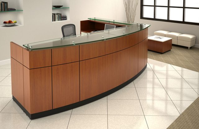 1 Source Office Furniture Baltimore Maryland Reception Desk