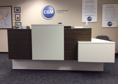 Logiflex Reception Counter