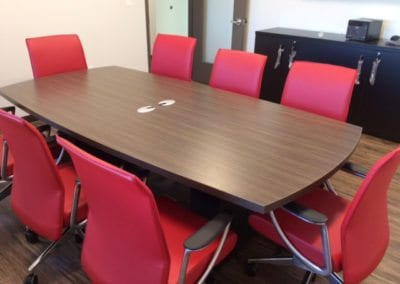 Logiflex Table with All Seating Chairs