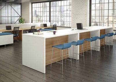 Logiflex Reference Table with Blue Stools
