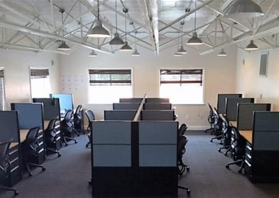 Call Center Workstations; Open Plan Systems