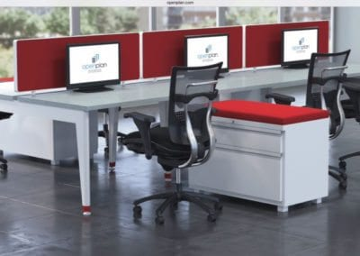 Open Plan Systems - Benching System - Open Plan Workstations