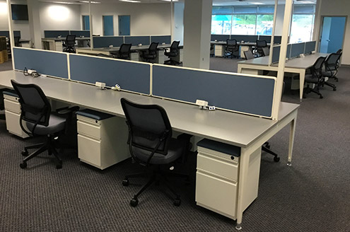 Benching Systems - 1 Source Office Furniture, Baltimore Maryland