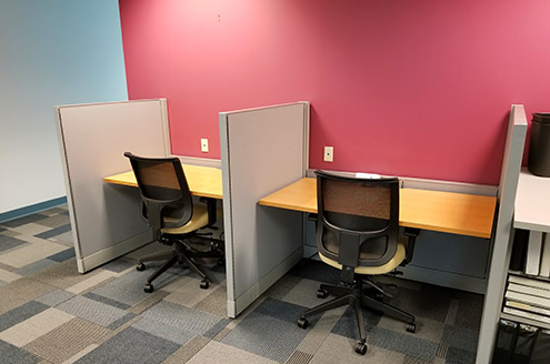 Call Center Furniture - 1 Source Office Furniture, Baltimore Maryland